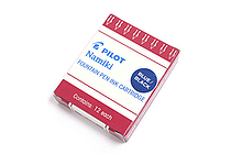 Pilot Namiki Fountain Pen Ink Cartridge - Blue Black - Pack of 12 - PILOT 69102