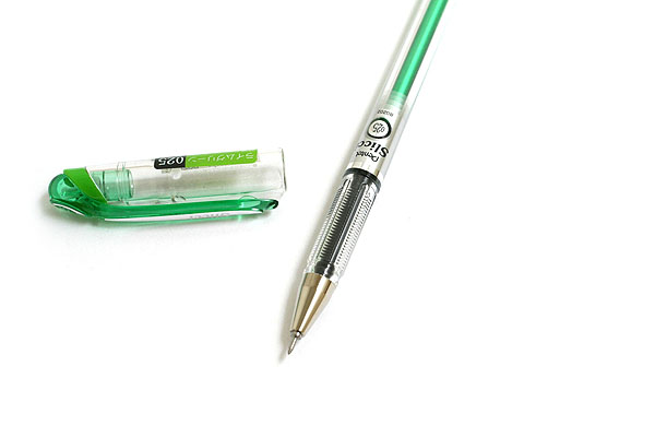 Pentel Slicci Gel Ink Pen - 0.25 mm - Lime Green Ink - PENTEL BG202-K