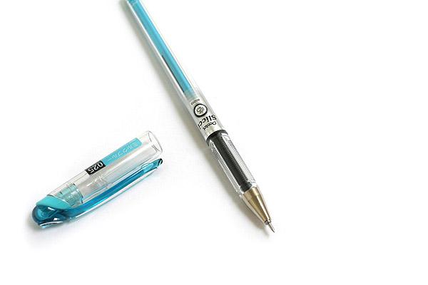 Pentel Slicci Gel Pen - 0.25 mm - Milk Baby Blue Ink - PENTEL BG202-S2
