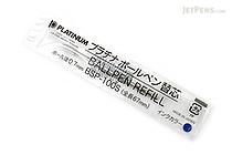 Platinum BSP-100S Ballpoint Pen Refill - D1 - 0.7 mm - Blue Ink - PLATINUM BSP-100S 3