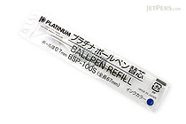 Platinum BSP-100S Ballpoint Pen Refill - D1 - 0.7 mm - Blue Ink - PLATINUM BSP-100S 3
