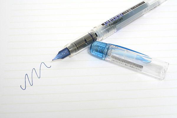 Platinum Preppy Fountain Pen Eco - 03 Fine Nib - Blue Black - PLATINUM PPQ-200 3O