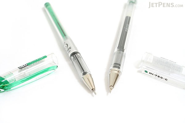 Pentel Slicci Gel Pen - 0.3 mm - Green Ink - PENTEL BG203-D