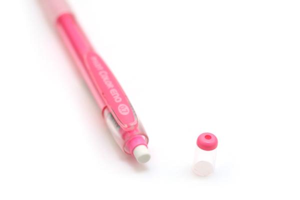 Pilot Color Eno Mechanical Pencil - 0.7 mm - Pink Body - Pink Lead - PILOT HCR-197-P