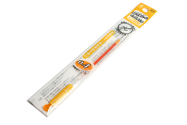 Pilot Hi-Tec-C Coleto Gel Multi Pen Refill - 0.4 mm - Apricot Orange - PILOT LHKRF-10C4-AO