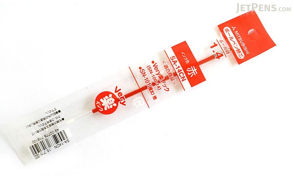 Uni SA-14CN Ballpoint Pen Refill - 1.4 mm - Red - UNI SA14CN.15