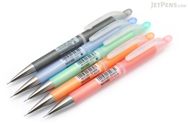 Zebra Espina Pearly Rubber Mechanical Pencil - 0.5 mm - Blue Grip - ZEBRA MA3-BL