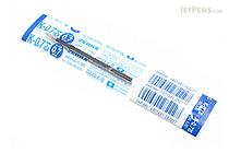 Zebra K-0.7 Ballpoint Pen Refill - 0.7 mm - Blue - ZEBRA BR-6A-K-BL