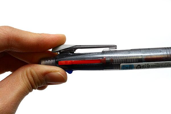 Zebra Sarasa 3+S 3 Color 0.5 mm Gel Ink Multi Pen + 0.5 mm Pencil - Black Body - ZEBRA SJ3-BK