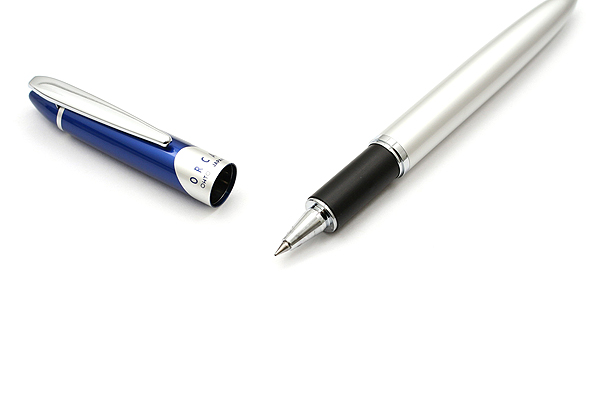 Ohto Orca Ceramic Rollerball Pen - 0.5 mm - Blue Cap - OHTO CB-10RC BLUE