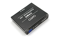 Ohto Fountain Pen Refill Cartridge - Blue Black - Set of 6 - OHTO FCR-6 BLUE BLACK