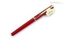 Pilot Young Rex Fountain Pen - Fine Nib - Red Body with Gold Trim - PILOT FNYR-300R-R FINE