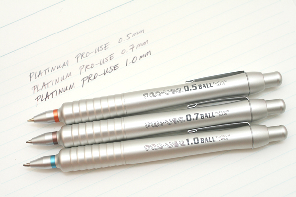 Platinum Pro-Use Ballpoint Pen - 0.5 mm - PLATINUM BSD-1500A