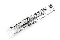 Platinum BSP-60S Ballpoint Pen Refill - 0.7 mm - Black - PLATINUM BSP-60S-(F0.7) 1
