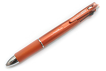 Zebra Clip-On 1000 4 Color 0.7 mm Ballpoint Multi Pen + 0.5 mm Pencil - Orange Body - ZEBRA B4SA2-OR