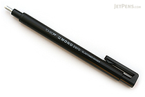 Tombow Mono Zero Eraser - 2.3 mm - Circle - Black Body - TOMBOW EH-KUR11