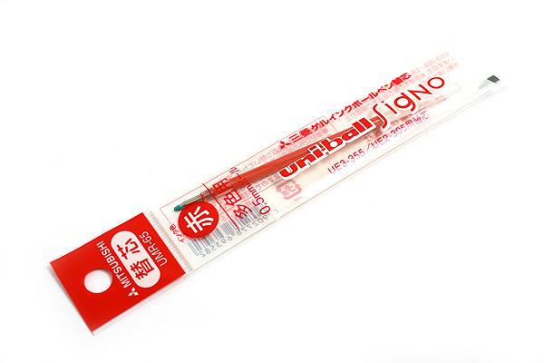 Uni UMR-65 Gel Ink Pen Refill - 0.5 mm - Red - UNI UMR65.15
