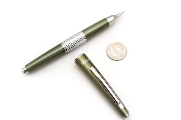 Pentel Sharp Kerry Mechanical Pencil - 0.5 mm - Olive Green Body - PENTEL P1035-KD