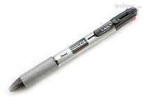 Pentel Rolly C4 4 Color Ballpoint Multi Pen - 0.7 mm - Black Clip - PENTEL BPC47A