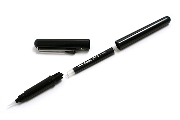 Pentel Pocket Brush Pen for Calligraphy - PENTEL XGFKP-A