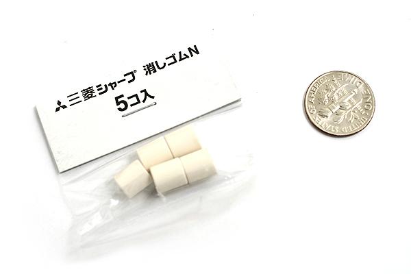 Uni Pencil Eraser Refill Size N - Set of 5 - UNI SKN