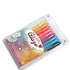 Sakura Glaze Gel Ink Pen - 10 Color Set