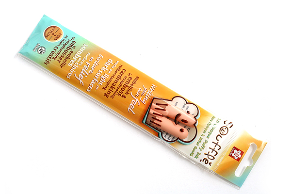 Sakura Souffle Gel Pen - Light Orange - Pack of 2 - SAKURA 58464
