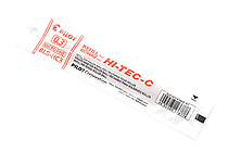 Pilot Hi-Tec-C Gel Pen Refill - 0.3 mm - Red - PILOT BLS-HC3-R