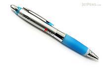 Uni Alpha Gel Shaka Ballpoint Pen - 0.7 mm - Royal Blue Grip - UNI SD617GG1P.40