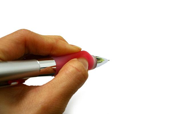 Uni Alpha Gel Shaka Shaker Mechanical Pencil - 0.5 mm - Rose Pink Grip - UNI M5617GG1P.66