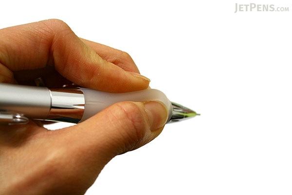 Uni Alpha Gel Shaka Shaker Mechanical Pencil - 0.5 mm - White Grip - UNI M5617GG1P.1