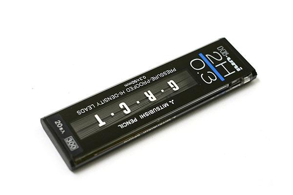 Uni Hi-Uni Hi-Density Pencil Lead - 0.3 mm - 2H - UNI UHU033002H