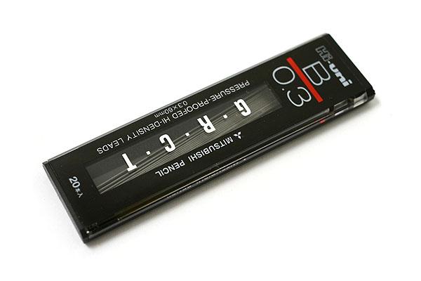 Uni Hi-Uni Hi-Density Pencil Lead - 0.3 mm - B - UNI UHU03300B