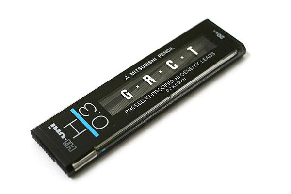 Uni Hi-Uni Hi-Density Pencil Lead - 0.3 mm - H - UNI UHU03300H