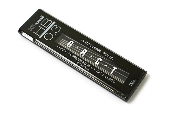 Uni Hi-Uni Hi-Density Pencil Lead - 0.3 mm - HB - UNI UHU03300HB
