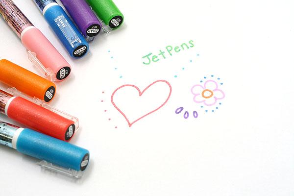 Uni Posca Color Metallic Marking Pen - 1.0 mm - Set of 7 - UNI PC3ML7C