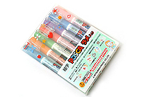 Uni Posca Color Metallic Marking Pen - 1.0 mm - Set of 7 - UNI PC3ML7C