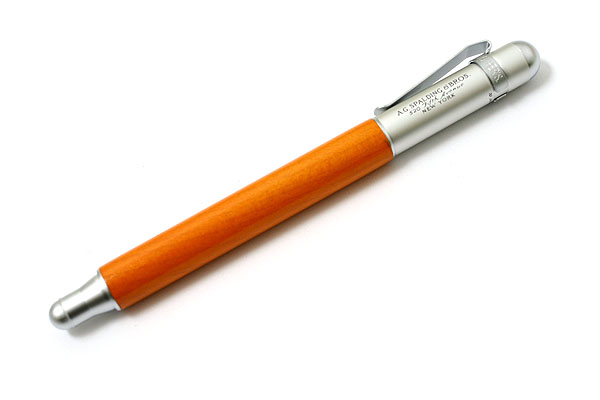 A.G. Spalding & Bros BRFT220 Fountain Pen - Medium Nib - Maple Wood - Orange Body - RAYMAY BRFT220 D