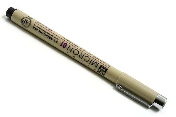 Sakura Pigma Micron Pen - Size 01 - 0.25 mm - Black - SAKURA XSDK01-49