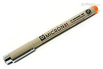 Sakura Pigma Micron Pen - Size 01 - 0.25 mm - Orange - SAKURA XSDK01-05