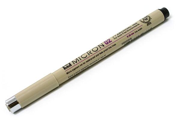 Sakura Pigma Micron Pen - Size 02 - 0.3 mm - Black - SAKURA XSDK02-49