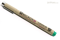 Sakura Pigma Micron Pen - Size 03 - 0.35 mm - Green - SAKURA XSDK03-29