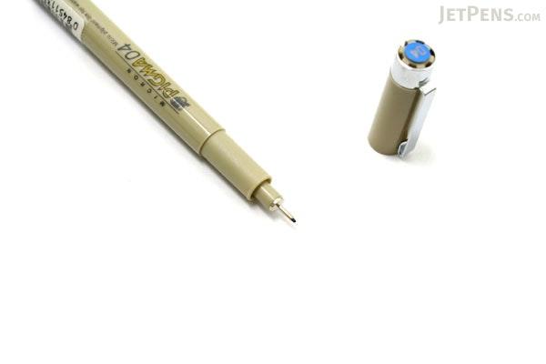 Sakura Pigma Micron Pen - Size 04 - 0.4 mm - Blue - SAKURA XSDK04-36