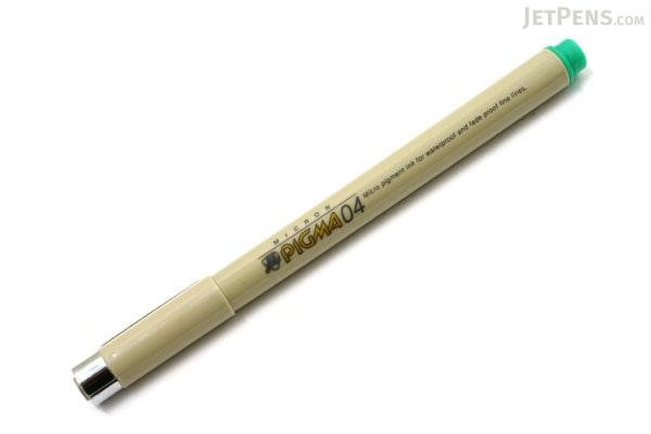 Sakura Pigma Micron Pen - Size 04 - 0.4 mm - Green - SAKURA XSDK04-29