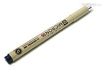 Sakura Pigma Micron Pen - Size 05 - 0.45 mm - Blue Black - SAKURA XSDK05-243