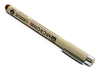 Sakura Pigma Micron Pen - Size 05 - 0.45 mm - Burgundy Red - SAKURA XSDK05-22