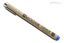 Sakura Pigma Micron Pen - Size 08 - 0.5 mm - Blue - SAKURA XSDK08-36