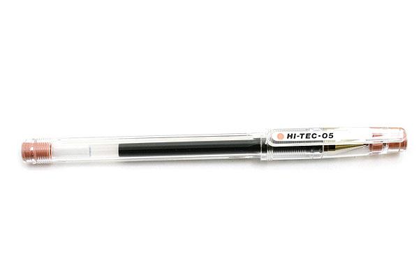 Pilot Hi-Tec-C Gel Ink Pen - 0.5 mm - Yawaragi Colors - Bengara (Ferric Oxide Rouge) - PILOT LH-20C5-BEN