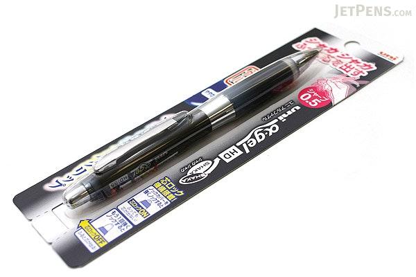 Uni Alpha Gel HD Shaka Shaker Mechanical Pencil - 0.5 mm - Black Body - Black Grip - UNI M5618GG1P .24