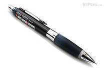 Uni Alpha Gel HD Shaka Shaker Mechanical Pencil - 0.5 mm - Black Body - Black Grip - UNI M5618GG1P .24